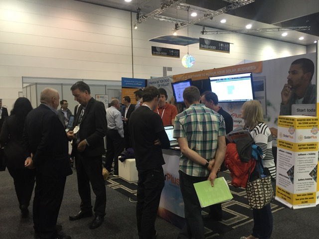 solarplus and pvsell stall at solar energy 2016