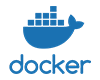 Docker containerisation logo