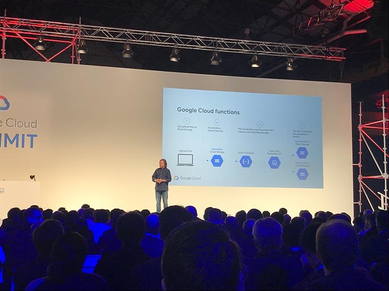 Google Cloud Technical Director Paul Strong